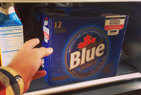 Labatt's Blue lifetime supply