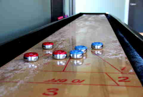 Shuffleboard at HA