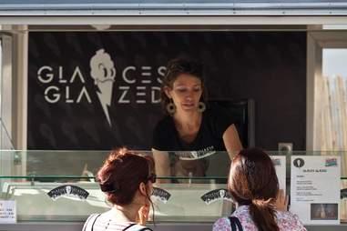 Glaces Glazed food truck Paris