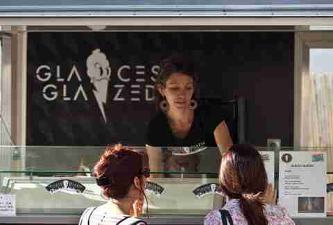 Glaces Glazed food truck Paris