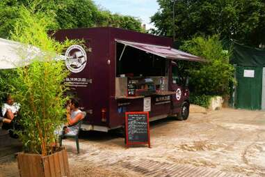 Le Camion Gourmand Food Truck in Paris