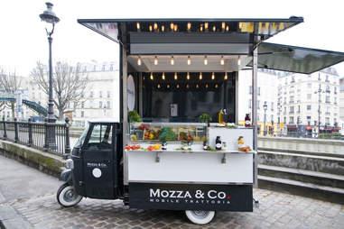 Mozza & Co. food truck Paris