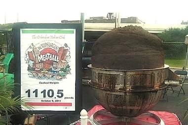 world's biggest meatball