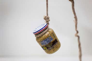 Grey Poupon hanging