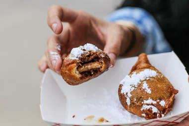 deep fried Reese's Peanut Butter Cup