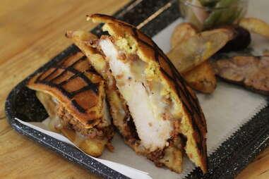 Fried Chicken Grilled Cheese - Pullman Kitchen