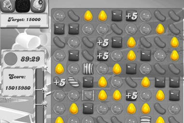 yellow candy - Candy Crush