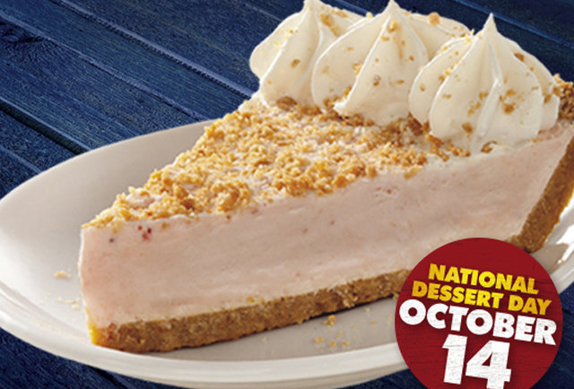 Get FREE PIE at Long John Silver\'s on October 14