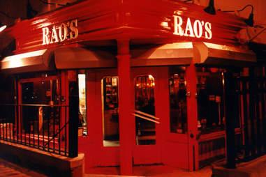 Rao's Restaurant New York