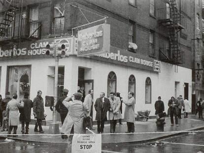 Umberto's Clam House Joe Gallo crime scene