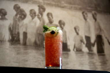 Singapore Sling at Holy Water