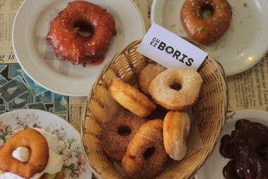 Donuts at Chez Boris Montreal