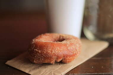Donut from Cafe Sardine Montreal