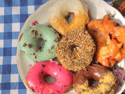 Donuts from Saints Donuts Montreal