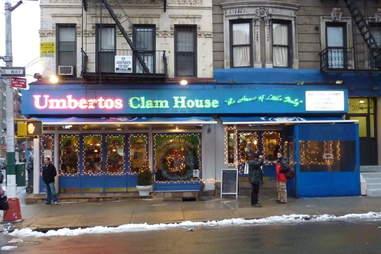 Umberto's Clam House New York