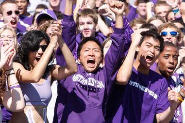 Northwestern Football Fans