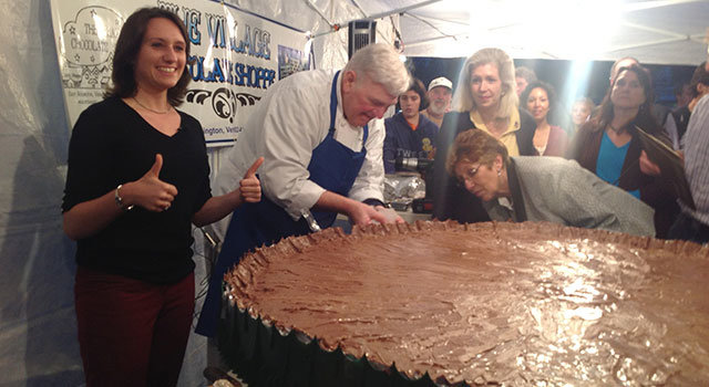 This 230lb peanut butter cup is the most important thing you\'ll see all day