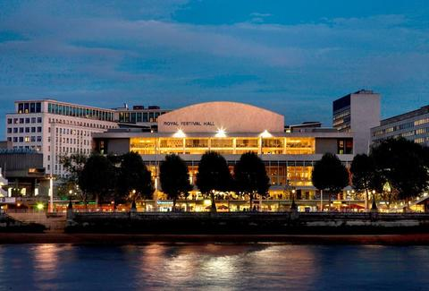 Exterior of Southbank Centre London