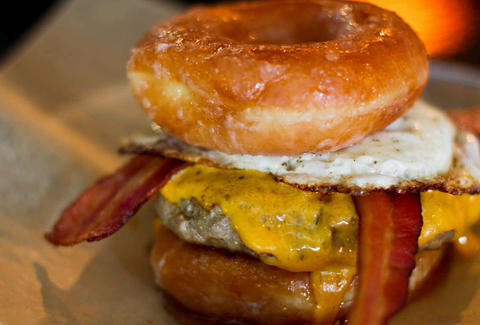 Atlanta Donut Burger