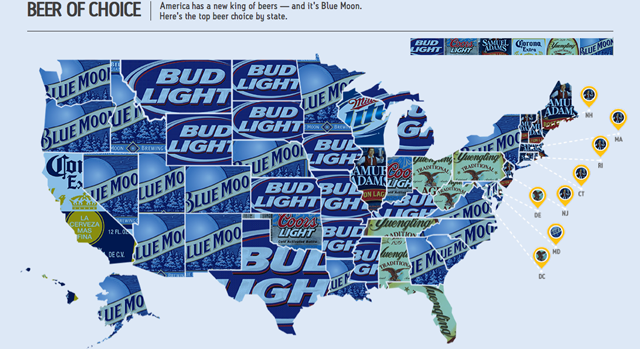 See how much your state drinks, how hungover it is, and more with these maps