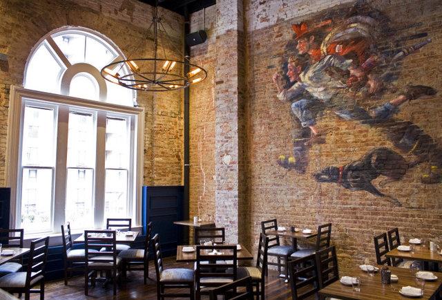 A four-alarmingly sweet tavern