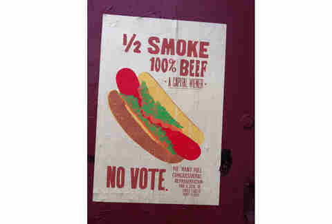 hot dog graffiti