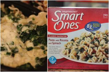 SmartOnes Pasta with ricotta and spinach