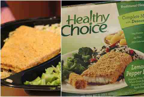 Healthy Choice's Lemon Pepper Fish
