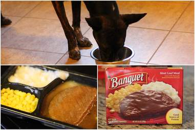 Banquet microwavable TV meal