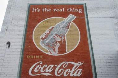 Coke wall art