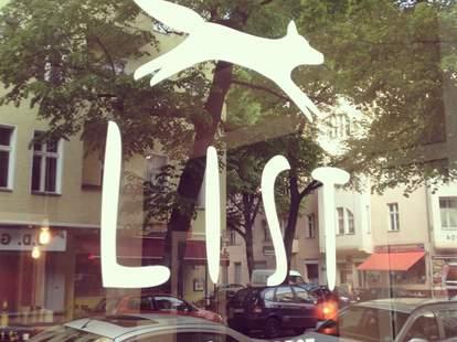 Window at List in Berlin