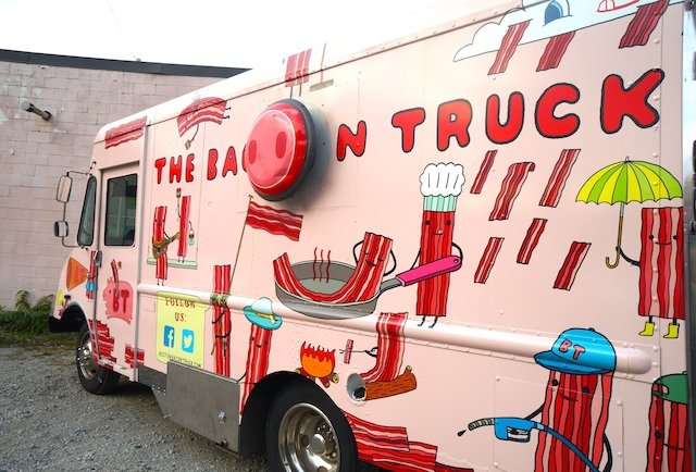 The Bacon Truck. It\'s finally here.