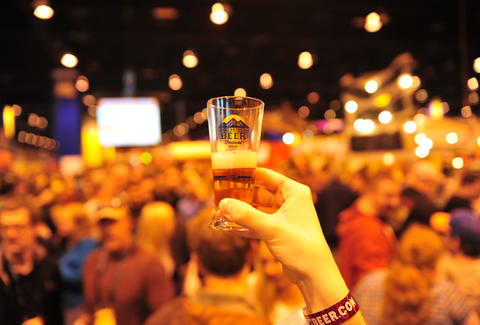 beer at Great American Beer Festival