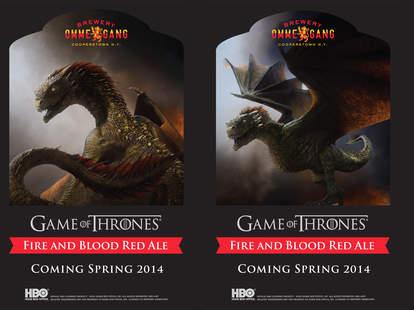 Game of Thrones beer labels