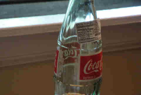 Mexico Coke bottle sticker