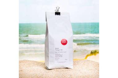 Heart coffee bean bag