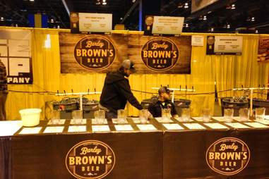 Barley Brown's Brew Pub booth at GABF