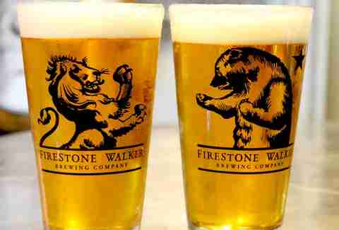 Firestone Walker pint glasses