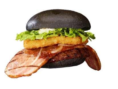 Burger King Japan Kuro Ninja burger