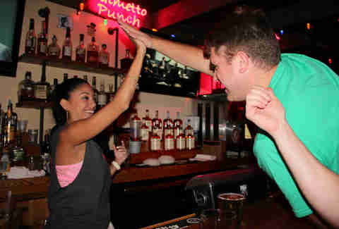 Bartender High Five