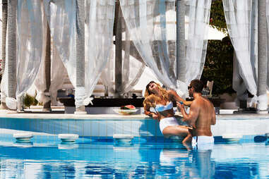 Pool at the Kivotos Hotel