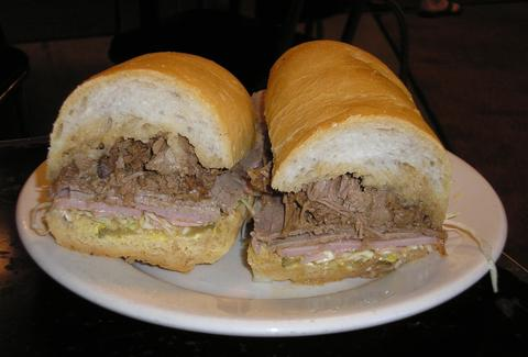 Sandwich at Mother's New Orleans
