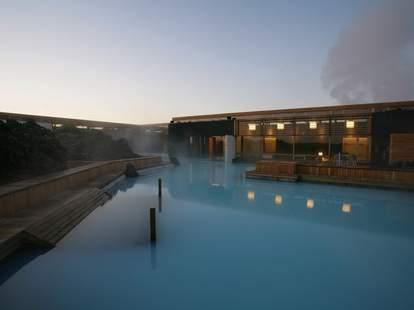 Blue Lagoon pool spa