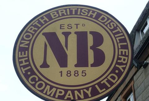 North British Distillery Co Sign