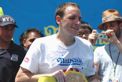 Joey Chestnut Nathan's