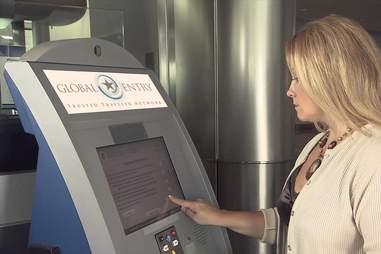 TSA Global entry pre-check security