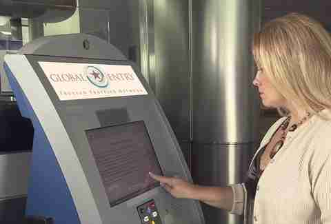TSA Global entry pre-check security