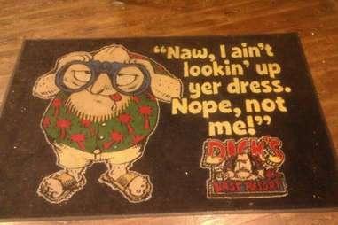 Dick's Last Resort doormat