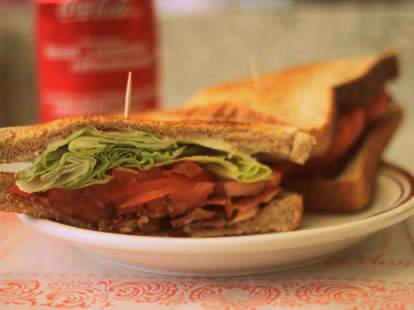 Sandwich at Beaubien Nouveau Système Montreal