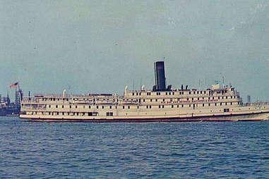 Ship on Old Bay Line
